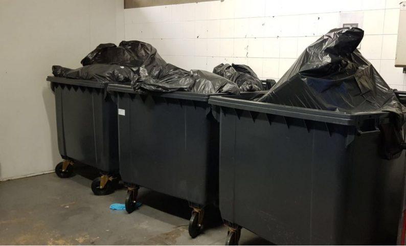 Recogida de basura en Barcelona de la industria selección y valorización