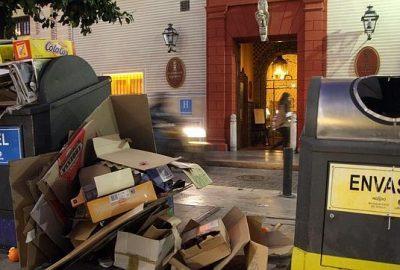 Gestión de resíduos en hoteles de Barcelona